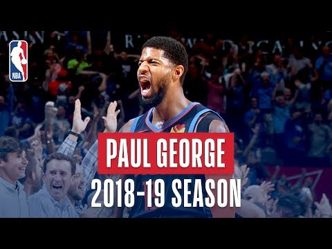Paul George's Best Plays From the 2018-19 NBA Regular Season
