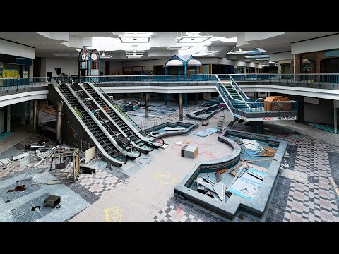 The Double Team with Dario Melendez - See Inside The Empty and Abandoned Northridge Mall