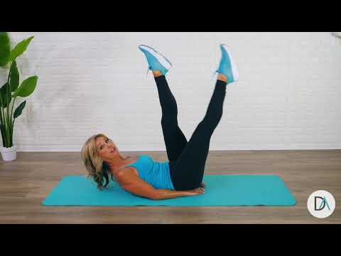 10-Minute Belly Blasting Workout | LifeFit 360 | Denise Austin