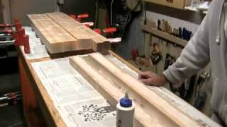 The Down To Earth Woodworker - Making Legs - Part 2