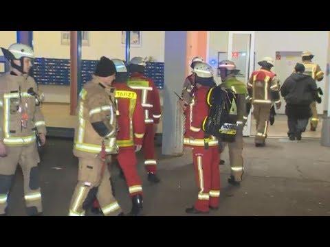 Brandserie in Berliner Hochhaus: Polizei fasst mutmaßlichen Feuerteufel