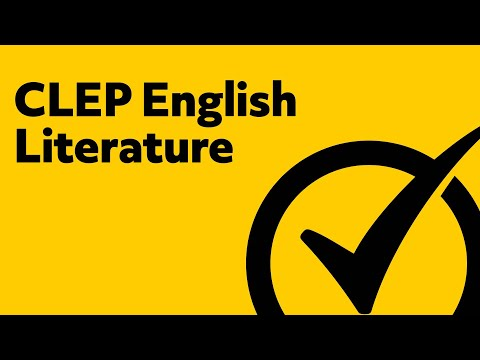 Best Free CLEP English Literature Study Guide