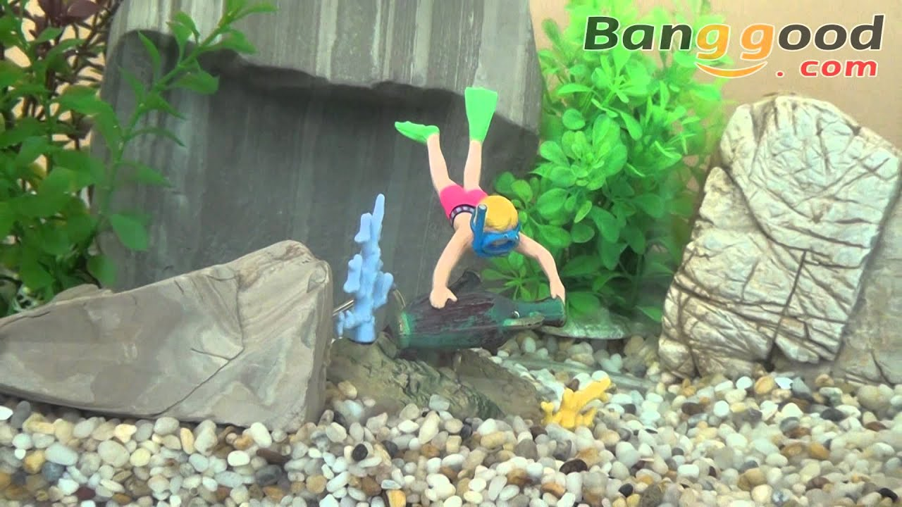 Junior action explorer action air aquarium decoration for Decoration action