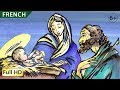 The First Christmas: Learn French with subtitles - Story for Children