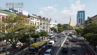 Sule Pagoda Road, Yangon, Myanmar