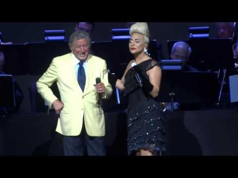 """For Once & I Won't Dance"" Tony Bennett & Lady Gaga@Borgata Atlantic City 7/24/15"