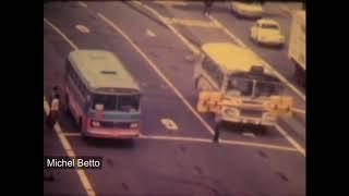 Ônibus antigo de São Paulo em 1979