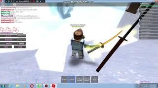 ROBLOX samurai simulator:gap dc ban moi lap team
