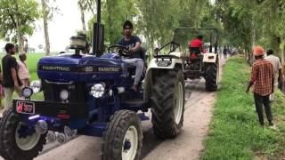 Farmtrac 60 Epi Vs Swaraj 855(weekend)