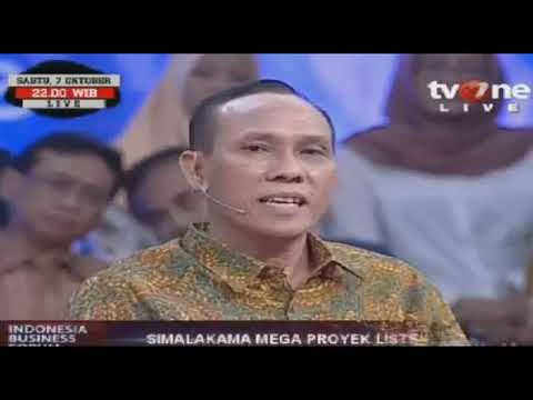 Acara Indonesia Business Forum di TV One: Perkembangan Proye