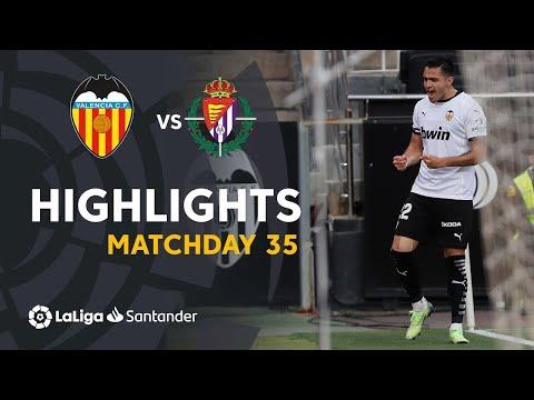 Valencia Valladolid Goals And Highlights