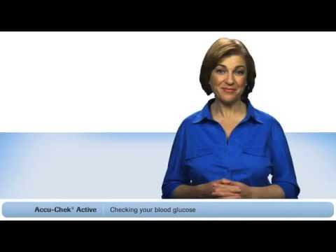 Hướng dẫn sử dụng Máy đo đường huyết Accu Chek Active