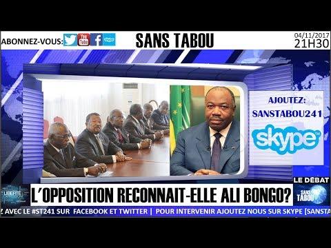 L'OPPOSITION RECONNAIT-ELLE ALI BONGO?