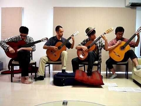 dragon quest guitar quartet youtube. Black Bedroom Furniture Sets. Home Design Ideas