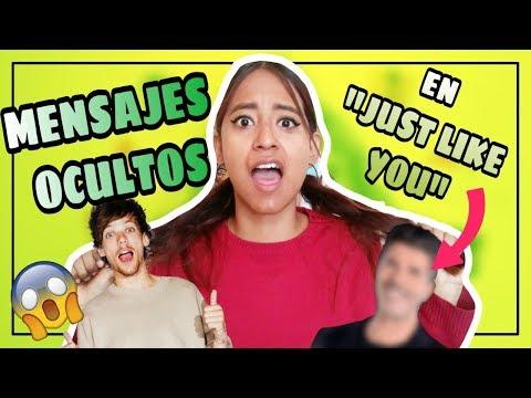 MENSAJES OCULTOS en canción JUST LIKE YOU de LOUIS TOMLINSON🔥¡OMG  MELI SBEIB