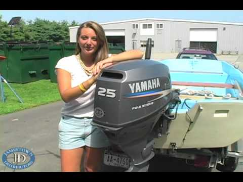 How to Replace a Water Pump on a 25 hp Yamaha Outboard - YouTube