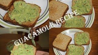 How To Make Guacamole Dip/avocado Spread - Mexican Cuisine