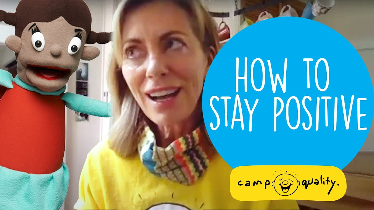 Kerry Armstrong Shares How She Stays Positive In Difficult Times - With Mel The Camp Quality Puppet