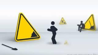 Znaki drogowe tańczą :) Gheaghea Vanea- Graieste Moldovneste.  :D