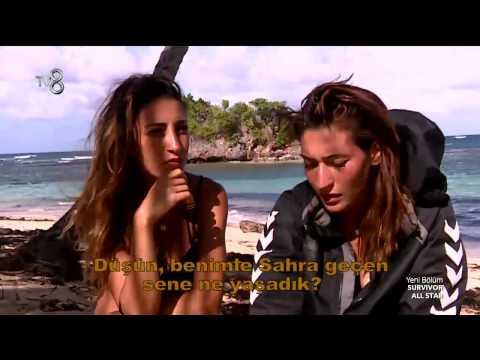 Survivor All Star - Berna'dan Sahra Hakkında İlginç Sözler (6.Sezon 8.Bölüm)