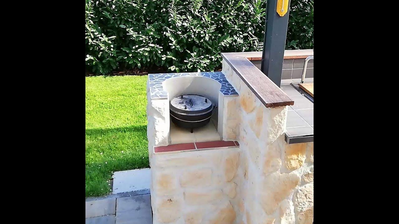 Die Outdoorkuche Dutch Oven Feuerstelle Steakthat Com Youtube