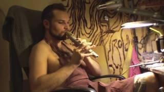 Пимак из керамики своими руками!  (Native American flute made of ceramics)(Вот мой первый вариант флейты североамериканских индейцев выполненный из глины. Она еще влажная, но звучит..., 2014-01-14T08:21:59.000Z)