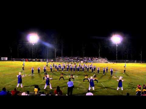 Talladega County Central High School 2014 Field Show