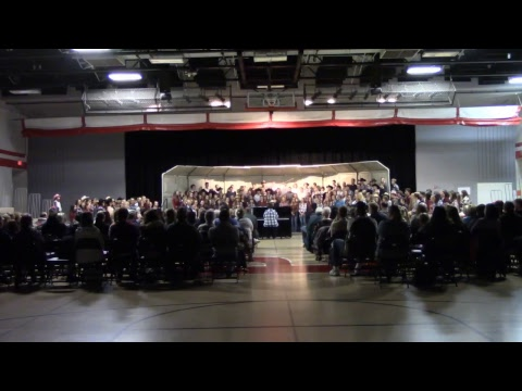 Pierz Healy High School Choir Students present: It's All About Country