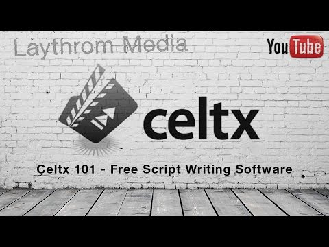Celtx 101 - Free Screenwriting Software