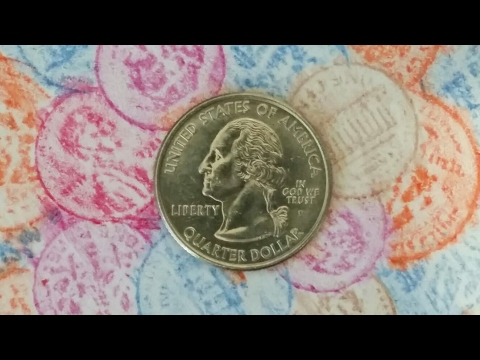 COIN ROLL HUNTING THROUGH QUARTERS!