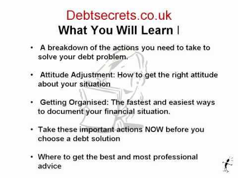 Debt Secrets UK IVA Bankruptcy Debt Managment Plan.wmv