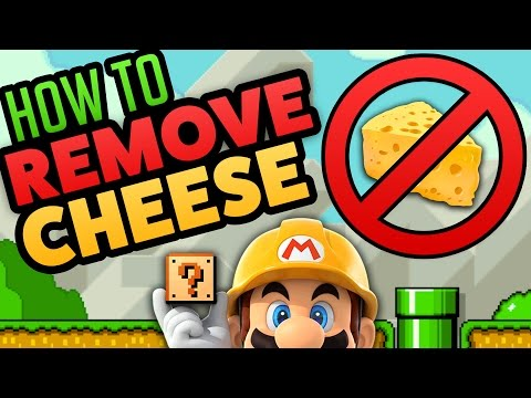 Super Mario Maker - DE-CHEESE YOUR LEVELS! - How To Remove Cheese [Tutorial]
