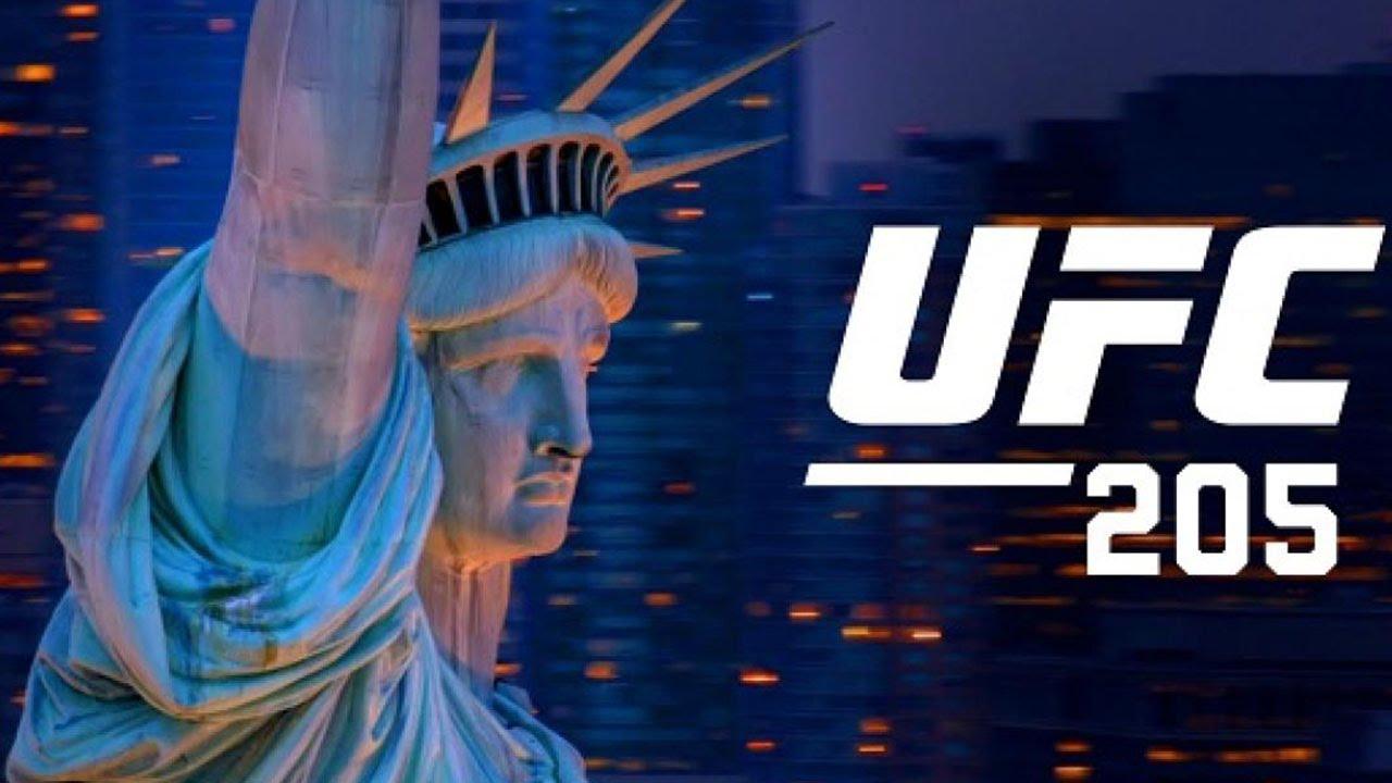 UFC 205 MCGREGOR VS ALVAREZ!! UFC 205 MADISON SQUARE ...