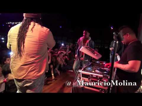 Zion y Lennox LIVE at Galaxy Nightclub! 1/13/12