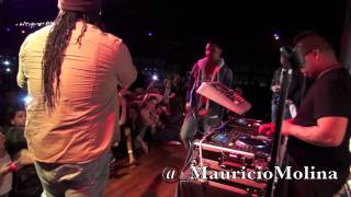 Zion y Lennox LIVE at Galaxy Nightclub! 1/13/12