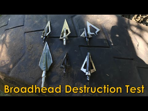 Broadhead Penetration Test 118