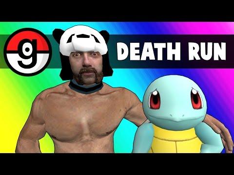 Gmod Deathrun - Pokemon Go Edition (Garry's Mod Funny Moments)