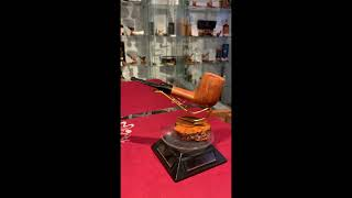Video: Briar pipe lovat 9mm filter year 1980 by Paronelli Pipe