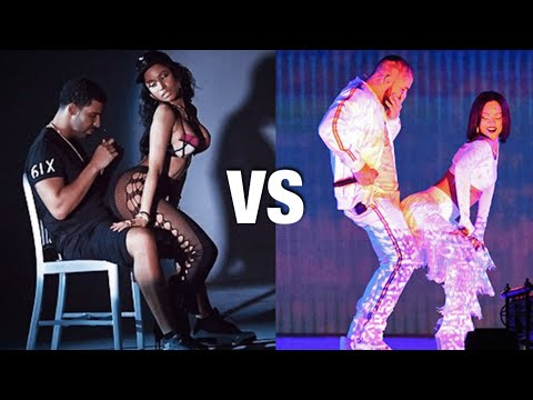 Nicki Minaj VS Rihanna TWERK BATTLE