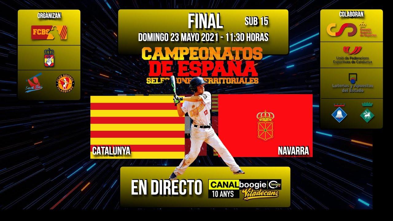FINAL CAMPEONATO DE ESPAÑA 2021 SELECCIONES TERRITORIALES SUB 15