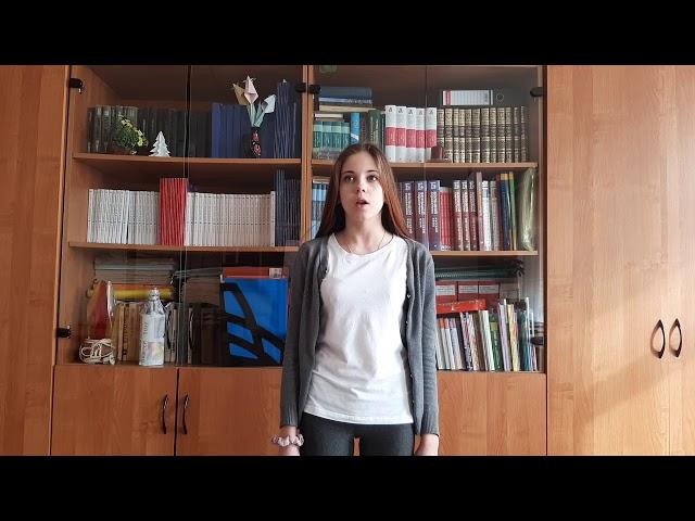 Изображение предпросмотра прочтения – ЮлияВласова читает произведение «Сонет № 130. Ее глаза на звезды не похожи…» У.Шекспира