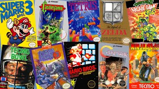 Top 300 best NES games in chronological order 1985 -1994