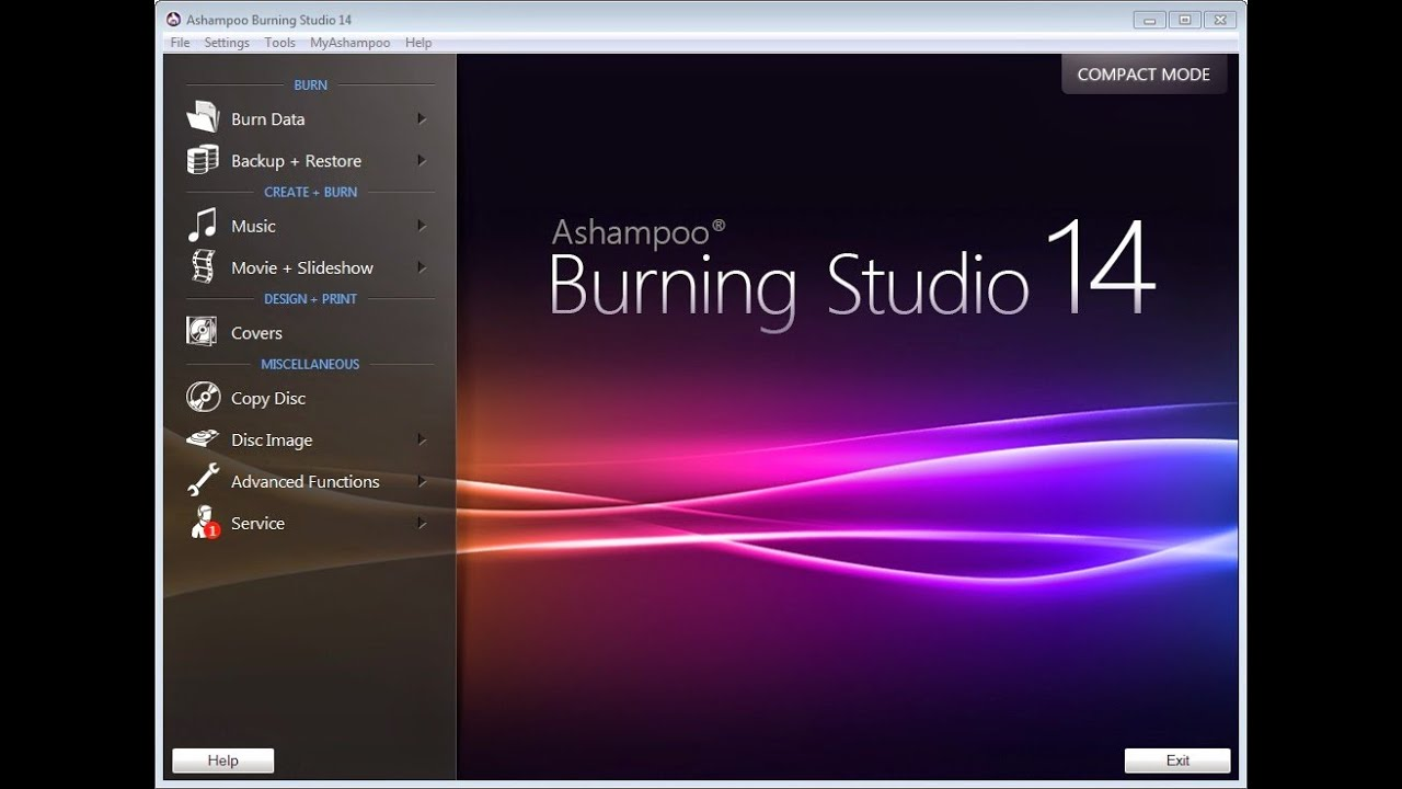 Ashampoo Burning Studio 14 14.0.4.2 Final (ML/RUS/ENG/2014)