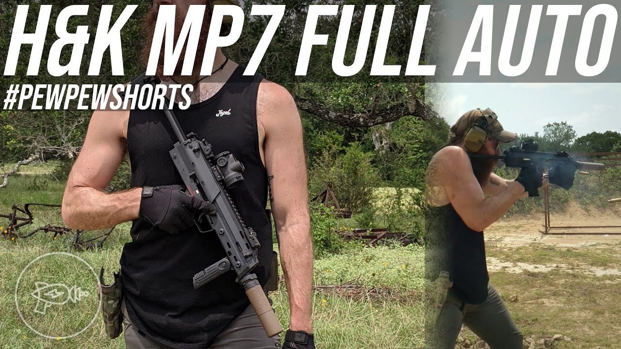H&K MP7 Full-Auto (A Holy Grail Gun) #shorts