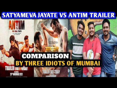 Download Satyamev Jayate 2 vs Antim Trailer | Satyamev Jayate 2 Trailer Reaction | By Three Idiots Of Mumbai