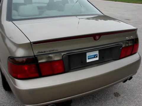 2001 Cadillac Seville Sls Youtube