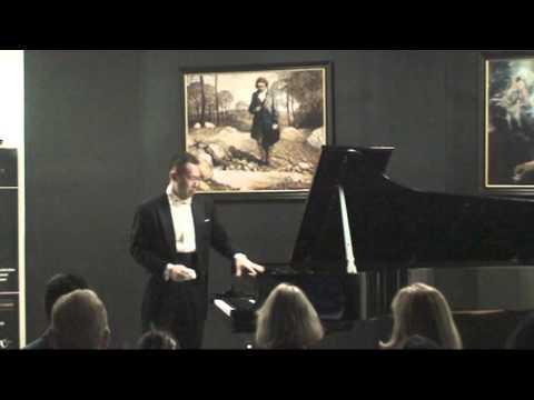 Jue Wang Concert at Steinway 1/2