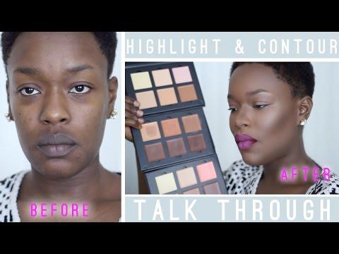 Highlight & Contour Talk Through #AnastasiaBeverlyHills  REVIEW