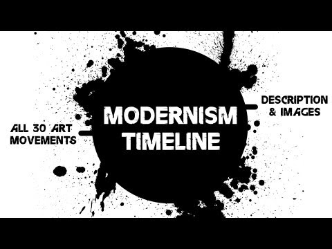 Modernism Timeline / All 30 Art Movements