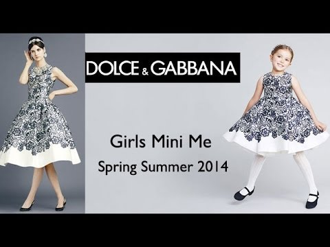 98506ef7e68 Dolce   Gabbana Girls Dresses Spring Summer - Mini Me Collection ...